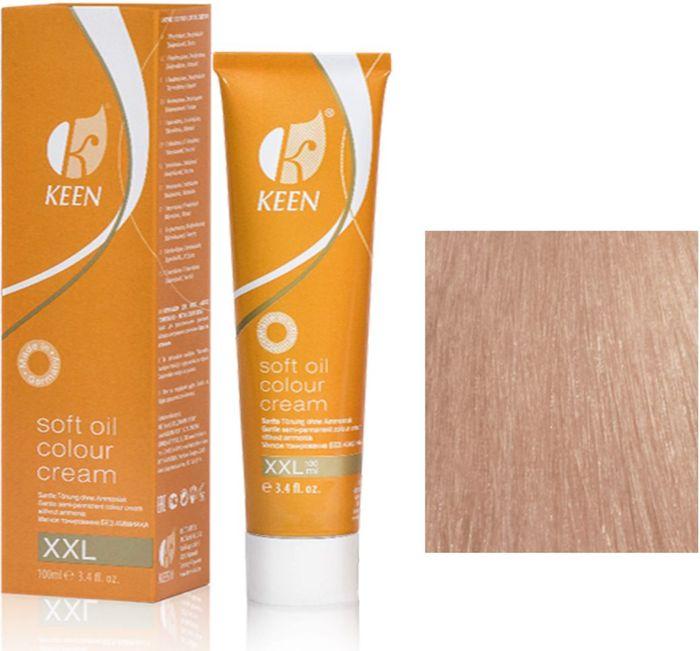 Keen Soft Oil Мягкое тонирование Крем-масло для волос 10.7 Ультра-светлый коричневый блондин Ultrahellblond Braun, 100 мл108022МЯГКОЕ И ЩАДЯЩЕЕ ТОНИРОВАНИЕ: Крем-масло не содержит аммиак. УХОД: Крем-масло разработано на основе масла макадамии и оливкового масла для сохранения и укрепления структуры волос в процессе окрашивания. РЕЗУЛЬТАТ: Блестящие ухоженные волосы насыщенного светящегося цвета.pH: 9,5 – 10,5