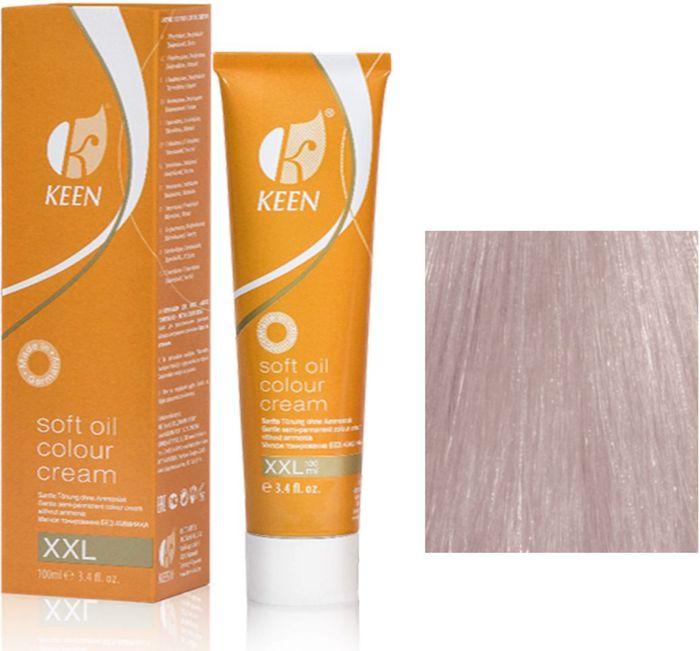 Keen Soft Oil Мягкое тонирование Крем-масло для волос 10.8 Ультра-светлый жемчужный блондин Ultrahellblond Perl , 100 мл12910812МЯГКОЕ И ЩАДЯЩЕЕ ТОНИРОВАНИЕ: Крем-масло не содержит аммиак. УХОД: Крем-масло разработано на основе масла макадамии и оливкового масла для сохранения и укрепления структуры волос в процессе окрашивания. РЕЗУЛЬТАТ: Блестящие ухоженные волосы насыщенного светящегося цвета.pH: 9,5 – 10,5