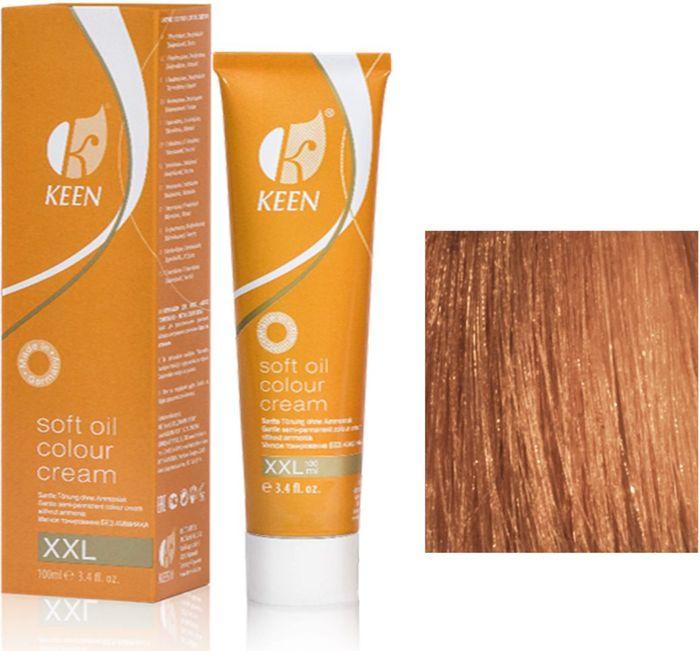 Keen Soft Oil Мягкое тонирование Крем-масло для волос 7.43 Натуральный медно-золотистый блондин Mittelblond Kupfer-Gold, 100 мл12974312МЯГКОЕ И ЩАДЯЩЕЕ ТОНИРОВАНИЕ: Крем-масло не содержит аммиак.УХОД: Крем-масло разработано на основе масла макадамии и оливкового масла для сохранения и укрепления структуры волос в процессе окрашивания.РЕЗУЛЬТАТ: Блестящие ухоженные волосы насыщенного светящегося цвета.pH: 9,5 – 10,5