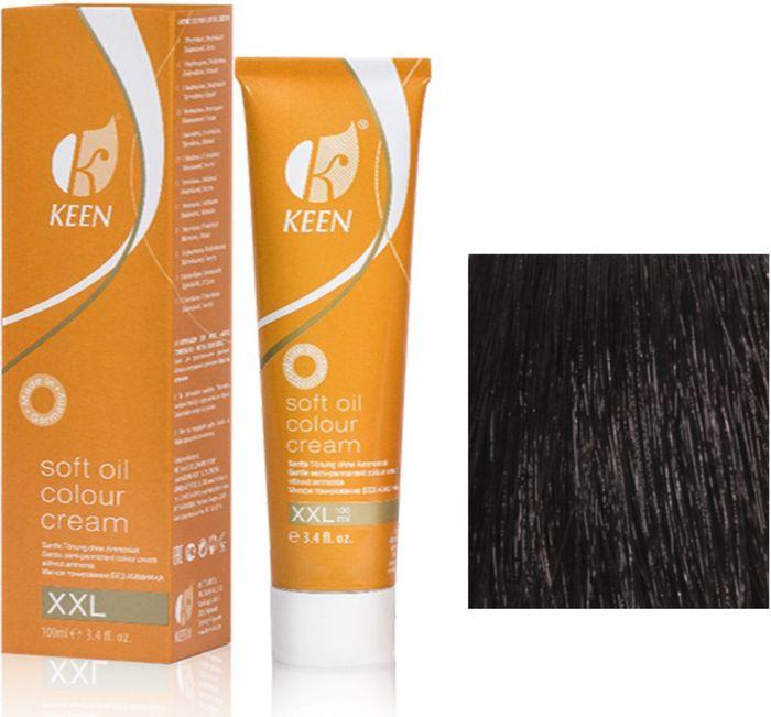 Keen Soft Oil Мягкое тонирование Крем-масло для волос 3.0 Темно-коричневый Dunkelbraun, 100 мл12993012МЯГКОЕ И ЩАДЯЩЕЕ ТОНИРОВАНИЕ: Крем-масло не содержит аммиак. УХОД: Крем-масло разработано на основе масла макадамии и оливкового масла для сохранения и укрепления структуры волос в процессе окрашивания. РЕЗУЛЬТАТ: Блестящие ухоженные волосы насыщенного светящегося цвета.pH: 9,5 – 10,5