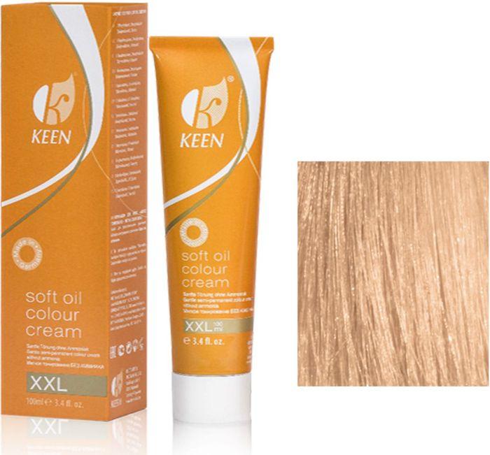 Keen Soft Oil Мягкое тонирование Крем-масло для волос 9.3 Светло-золотистый блондин Hellblond Gold, 100 мл12999312МЯГКОЕ И ЩАДЯЩЕЕ ТОНИРОВАНИЕ: Крем-масло не содержит аммиак. УХОД: Крем-масло разработано на основе масла макадамии и оливкового масла для сохранения и укрепления структуры волос в процессе окрашивания. РЕЗУЛЬТАТ: Блестящие ухоженные волосы насыщенного светящегося цвета.pH: 9,5 – 10,5