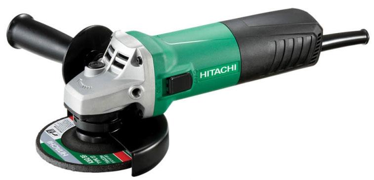 Шлифмашина угловая Hitachi G12SR4 с алмазным диском Carat шлифмашина угловая hitachi g13ss