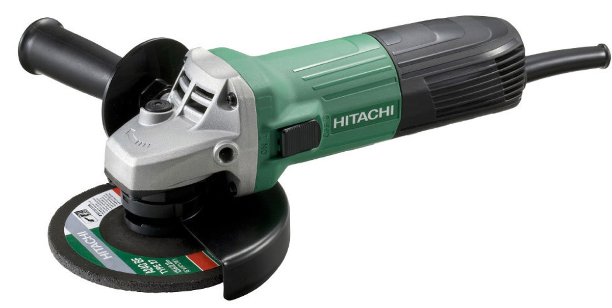 Шлифмашина угловая Hitachi G13SR4 с алмазным диском Carat шлифмашина угловая hitachi g13ss