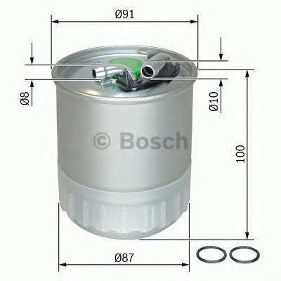 Прямоточный фильтр топливный Bosch F026402056F026402056