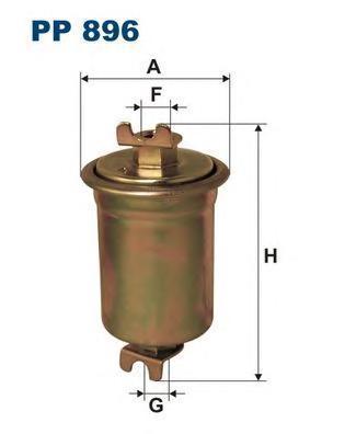 Фильтр топливный Filtron PP896PP896