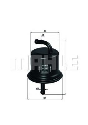 Фильтр топливный SUZUKI: LIANA 02-, LIANA универсаKL515