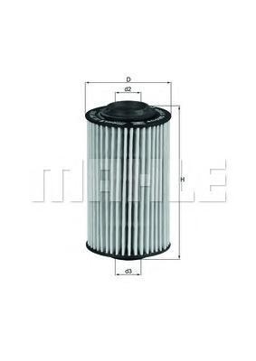 Масляный фильтр Mahle/Knecht OX399DOX399DФильтр масляный OPEL VECTRA C/SAAB 9-3 2.8T Mahle/Knecht. OX399D