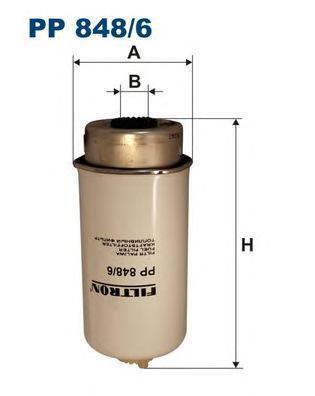 Фильтр топливный Filtron PP848/6PP848/6