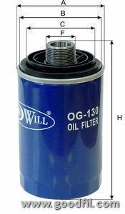 Масляный фильтр Goodwill OG130OG130Масляные фильтры Goodwill. OG130