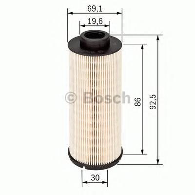Фильтр топливный Bosch, вставка 14574317051457431705