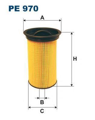Фильтр топливный Filtron PE970PE970