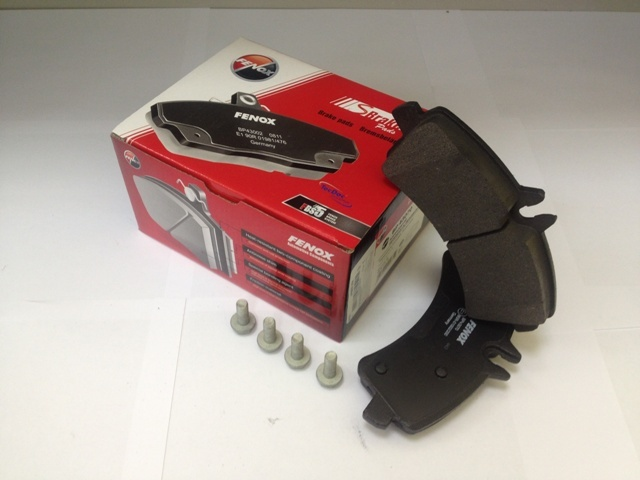 Тормозные колодки дисковые Fenox BP43070BP43070Колодки дисковые задние MB Sprinter II 4,6t 5t 06-, VW Crafter 30-35 30-50 06- [165*78,1*20,5 Bosch Fenox. BP43070