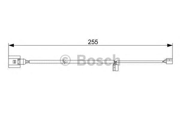 Тормозные колодки дисковые Bosch 19874730131987473013Датчик износа дисковой колодки Bosch. 1987473013