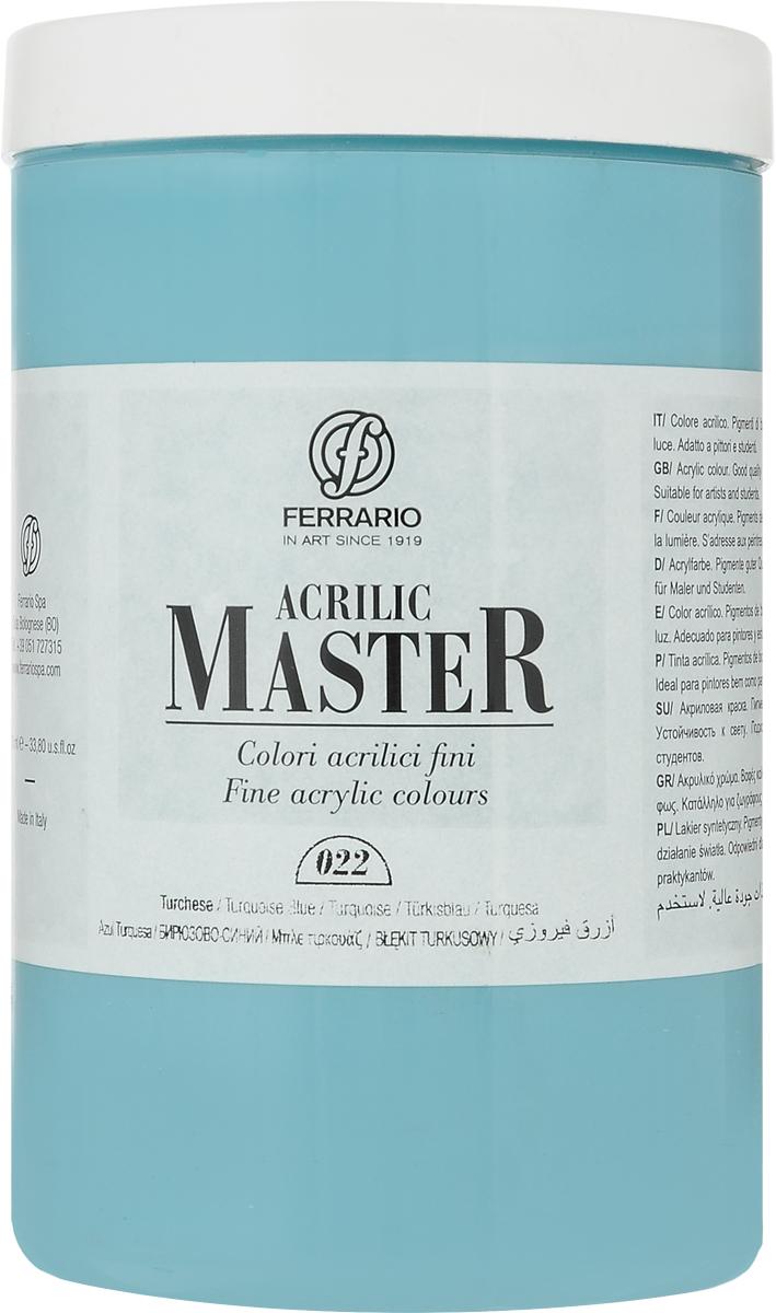 Ferrario Краска акриловая Acrilic Master цвет №22 турецкий синий BM0979E022BM0979E022Акриловые краски серии ACRILIC MASTER итальянской компании Ferrario. Универсальны в применении, так как хорошо ложатся на любую обезжиренную поверхность: бумага, холст, картон, дерево, керамика, пластик. При изготовлении красок используются высококачественные пигменты мелкого помола. Краска быстро сохнет, обладает отличной укрывистостью и насыщенностью цвета. Работы, сделанные с помощью ACRILIC MASTER, не тускнеют и не выгорают на солнце. Все цвета отлично смешиваются между собой и при необходимости разбавляются водой. Для достижения необходимых эффектов применяют различные медиумы для акриловой живописи. В серии представлено 50 цветов.