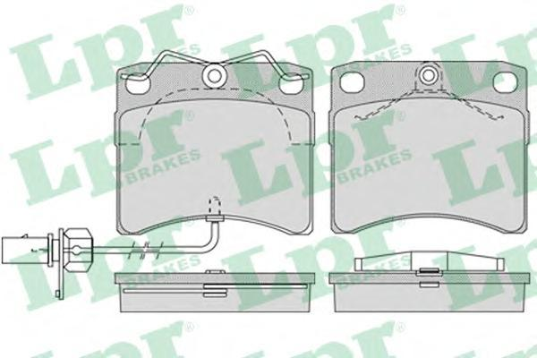 Колодки тормозные передние LPR / AP 05P98405P984