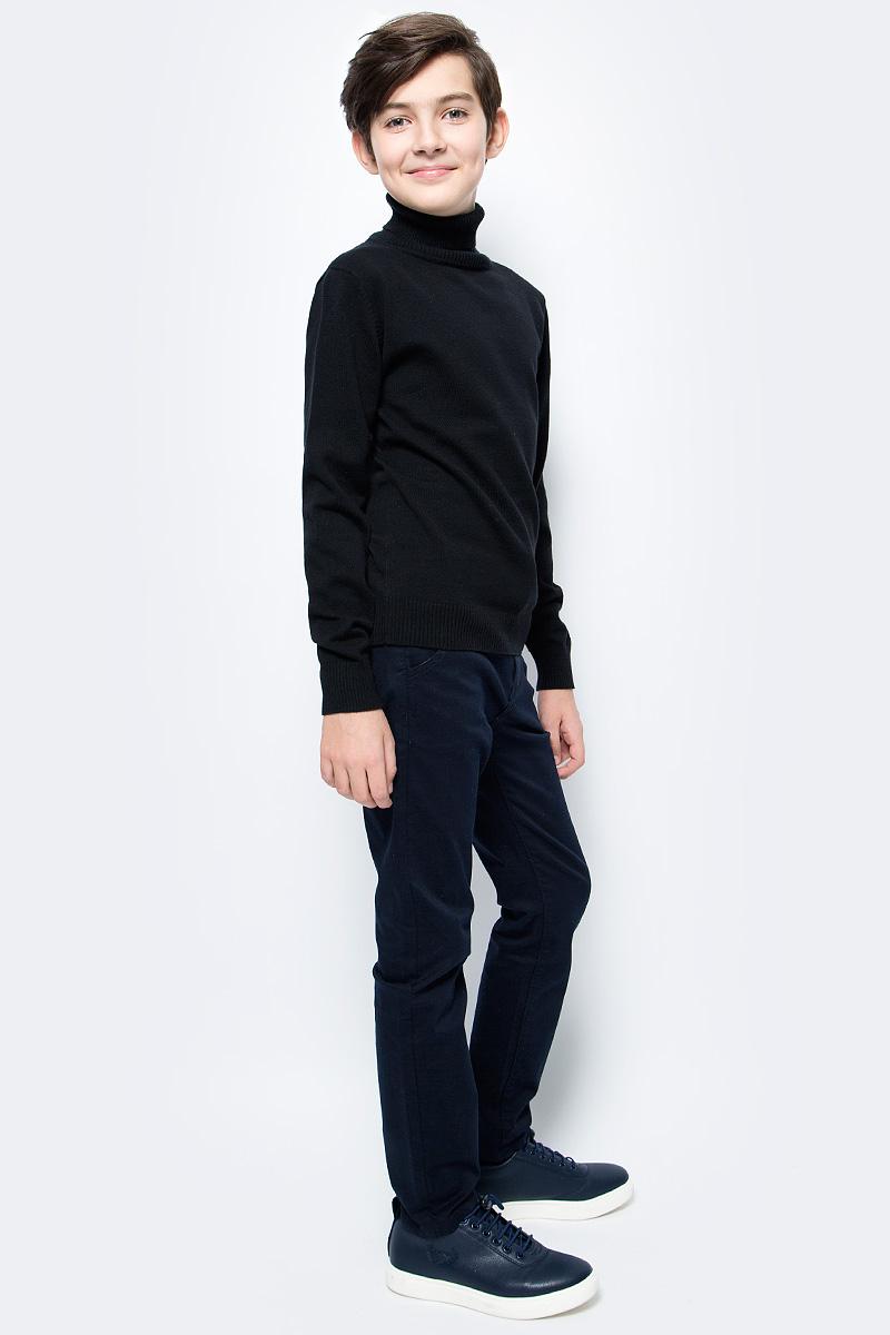 Брюки для мальчиков Vitacci, цвет: синий. 1171254-04. Размер 1341171254-04Брюки-джинсы утепленные на мальчика.