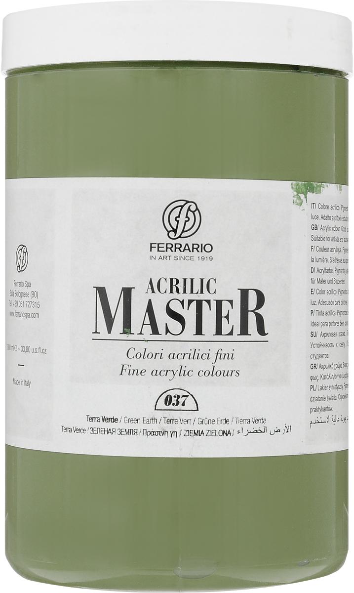 Ferrario Краска акриловая Acrilic Master цвет №37 зеленый земляной BM0979E037BM0979E037Акриловые краски серии Acrilic Master итальянской компании Ferrario универсальны в применении, так как хорошо ложатся на любую обезжиренную поверхность: бумага, холст, картон, дерево, керамика, пластик.При изготовлении красок используются высококачественные пигменты мелкого помола. Краска быстро сохнет, обладает отличной укрывистостью и насыщенностью цвета. Работы, выполненные с помощью Acrilic Master, не тускнеют и не выгорают на солнце. Все цвета отлично смешиваются между собой и при необходимости разбавляются водой. Для достижения необходимых эффектов применяют различные медиумы для акриловой живописи.В серии представлено 50 цветов.