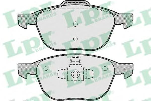 Колодки тормозные LPR / AP 05P119005P1190