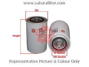Масляный фильтр Sakura C5808C5808Фильтр масл. Sakura Sakura авто. C5808