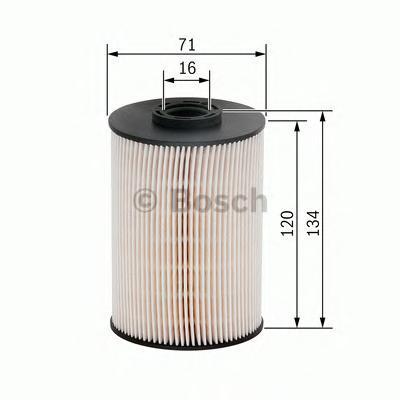 Фильтр топливный Bosch, вставка F026402101F026402101