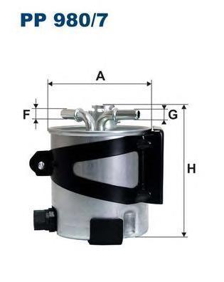 цена на Фильтр топливный Filtron. PP980/7