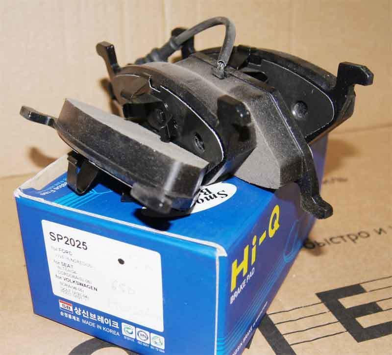 Тормозные колодки дисковые Sangsin SP2025SP2025Колодки тормозные передние Sangsin. SP2025