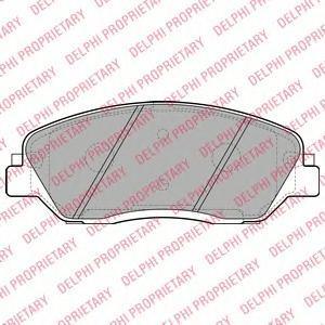 Тормозные колодки дисковыеDELPHI LP2048LP2048Колодки тормозные дисковые DELPHI. LP2048