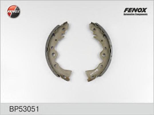Тормозные колодки барабанные Fenox BP53051BP53051Колодки барабанные Fenox. BP53051