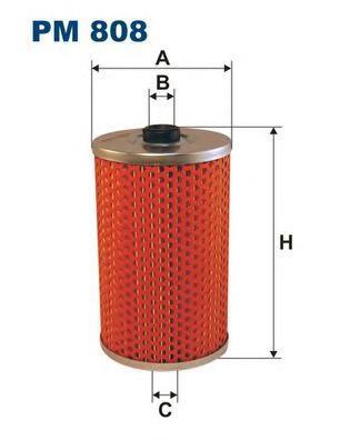 Фильтр топливный Filtron PM808PM808