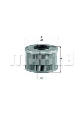 Топливный фильтр Mahle/Knecht KX79DKX79DФильтр топливный Renault Clio II 1.9D 4/98-], Kang Mahle/Knecht. KX79D