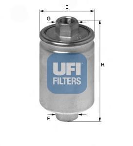 Фильтр топливный бензин UFI 31.741.0031.741.00