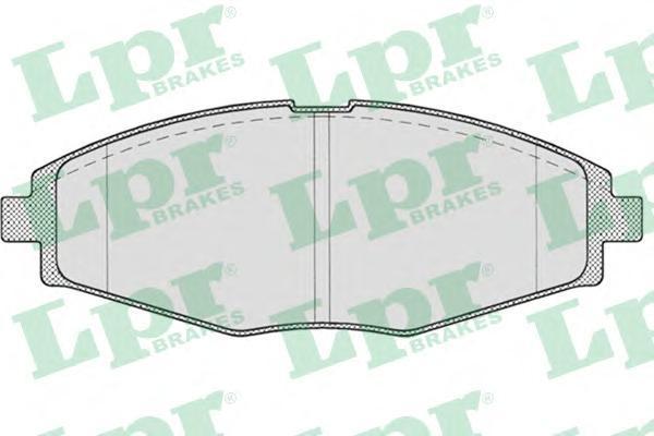 Колодки тормозные передний LPR / AP 05P69305P693