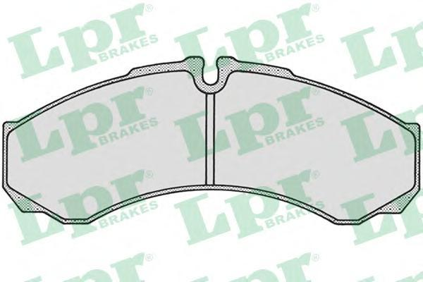 Колодки тормозные дисковые LPR / AP 05P68405P684