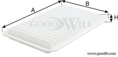 Воздушный фильтр Goodwill. AG121ECOAG121ECOВоздушные фильтры Goodwill. AG121ECO