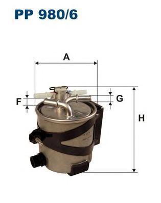 Фильтр топливный Filtron PP980/6PP980/6