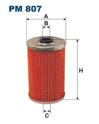 Фильтр топливный Filtron PM807PM807