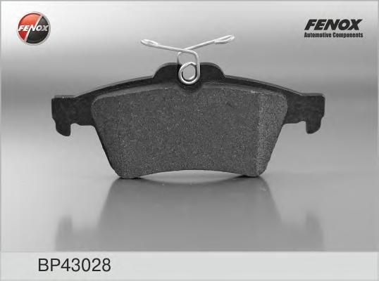 Тормозные колодки дисковые Fenox BP43028BP43028Колодки дисковые задние Fenox Ford Focus II, C-Max I II, Tourneo Connect 02-; Mazda 3 5, Citroen C5 08-. BP43028