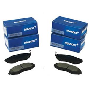 Тормозные колодки дисковые Mando MPH35MPH35Тормозные колодки дисковые к-т Mando. MPH35