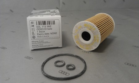 Масляный фильтр VAG 03L11556203L115562Фильтр масляный двигателя VAG. 03L115562