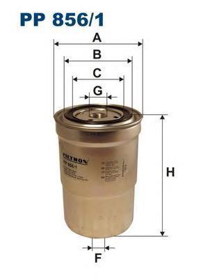Фильтр топливный Filtron PP856/1PP856/1