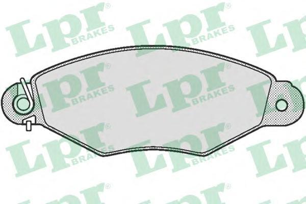 Колодки тормозные LPR / AP 05P66205P662