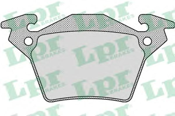 Колодки тормозные задниеLPR / AP 05P94805P948