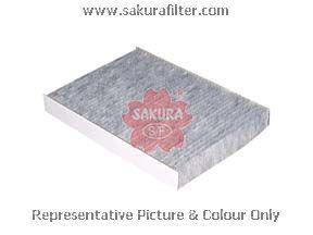 Салонный фильтр Sakura CAC1610CAC1610Фильтр салон. Sakura Sakura авто. CAC1610