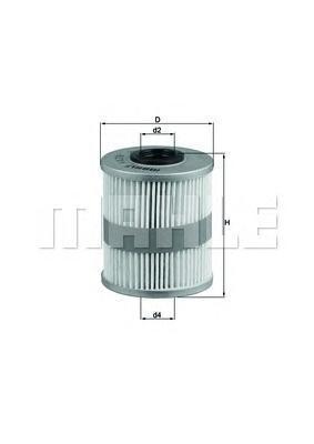 Фильтр топливный Mahle KX218DKX218D