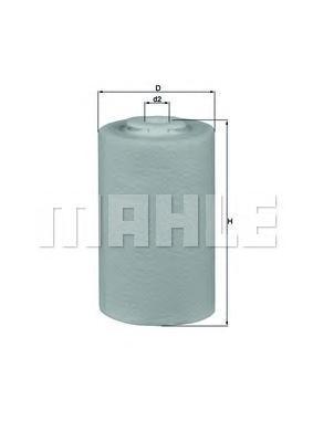 Фильтр топливный Mahle KX68DKX68D