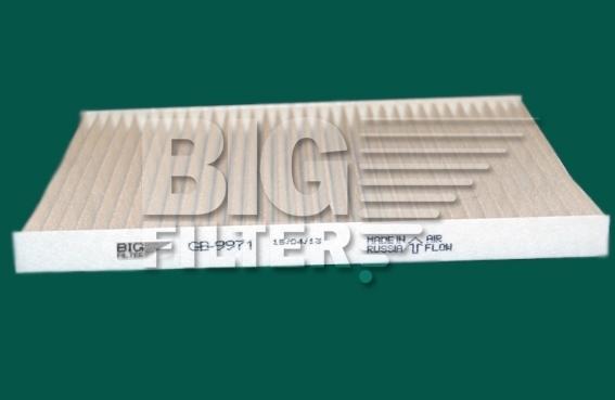 Фильтр салона (фильтроэлемент для пластиковой рамки) BIG FILTER GB9971GB9971