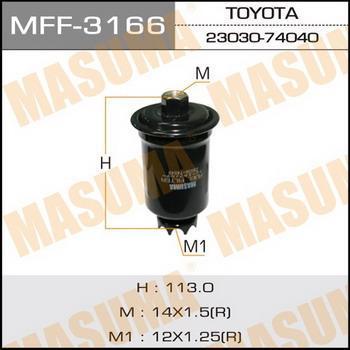 Фильтр топливный Masuma MFF-3166MFF-3166