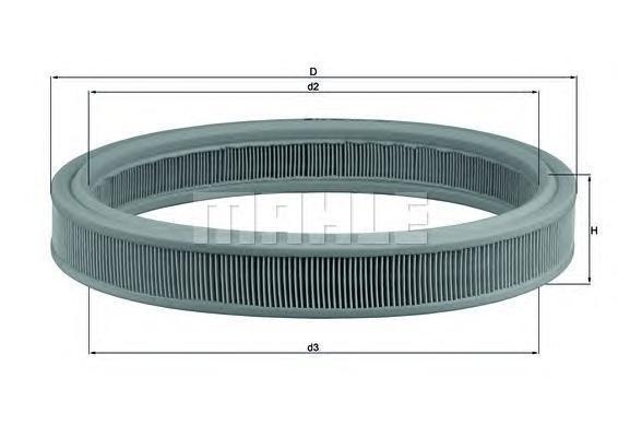 Воздушный фильтр Mahle/Knecht LX332LX332[LX332] Knecht (Mahle Filter)Фильтр воздушный Mahle/Knecht. LX332