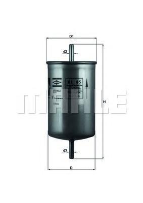 Топливный фильтр Mahle/Knecht KL85KL85[KL85] Knecht (Mahle Filter) Фильтр топливный Mahle/Knecht. KL85