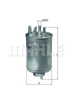Топливный фильтр Mahle/Knecht KL474KL474Фильтр топливный FIAT: DOBLO 01-, DOBLO Cargo 01-, PALIO Weekend 01-, PUNTO 99-, PUNTO Van 00-, STRA Mahle/Knecht. KL474